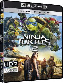 Ninja Turtles 2 - Packshot Blu-ray 4K Ultra HD