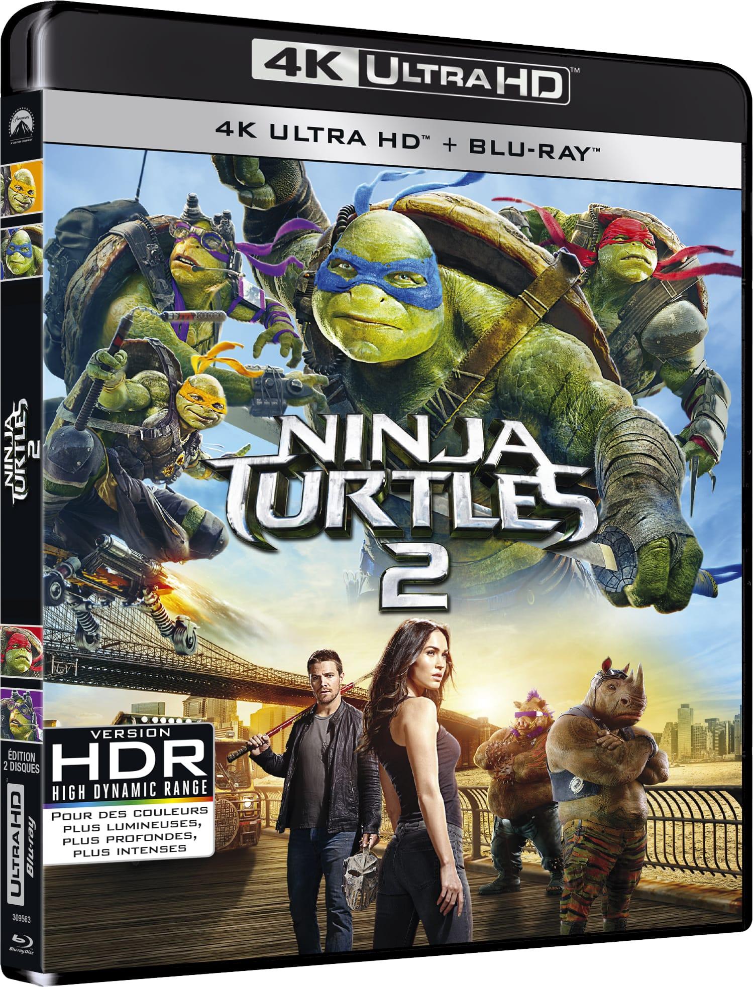 Ninja Turtles 2 Un Blu Ray 4k Cowabunga Tests Blu Ray 4k Ultra