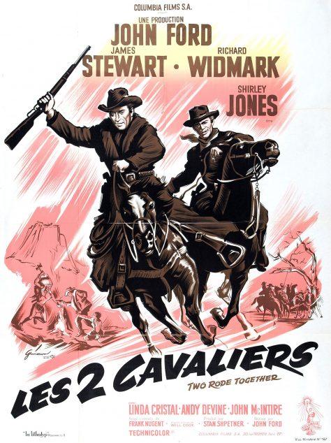 Les Deux cavaliers - Affiche FR