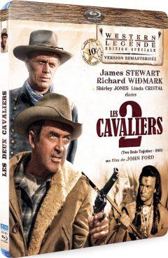 Les Deux cavaliers - Recto Blu-ray 3D