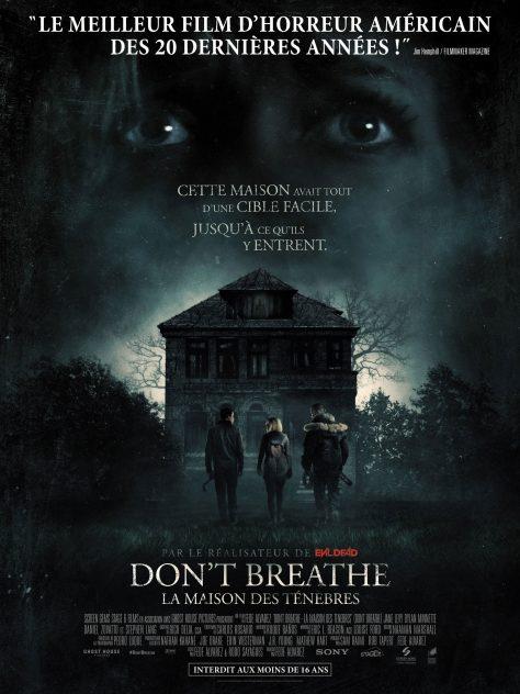 Don't Breathe - Affiche