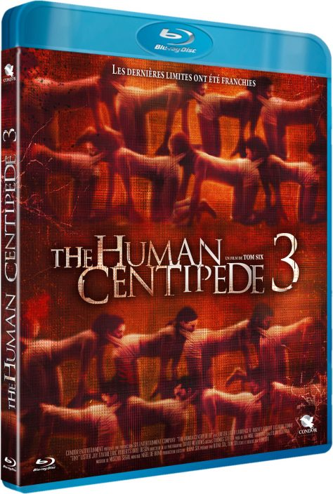 The Human Centipede III - Jaquette BRD 3D
