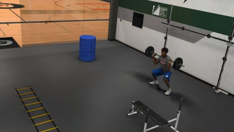 NBA 2K17 - Weight Room
