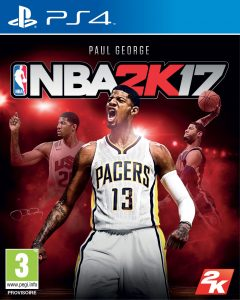 NBA 2K17 - Packshot PS4
