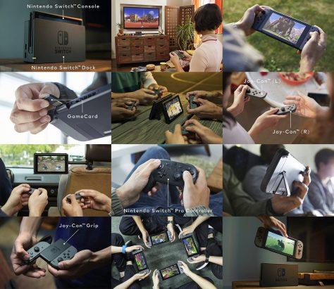 Nintendo Switch - Mosaic