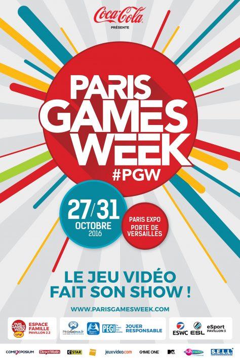Paris Games Week 2016 - Affiche