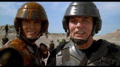 Starship Troopers (1997) de Paul Verhoeven - Édition US - Capture Blu-ray