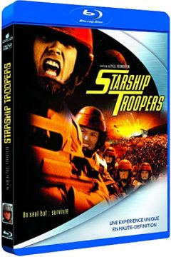 Starship Troopers (1997) de Paul Verhoeven - Packshot Blu-ray