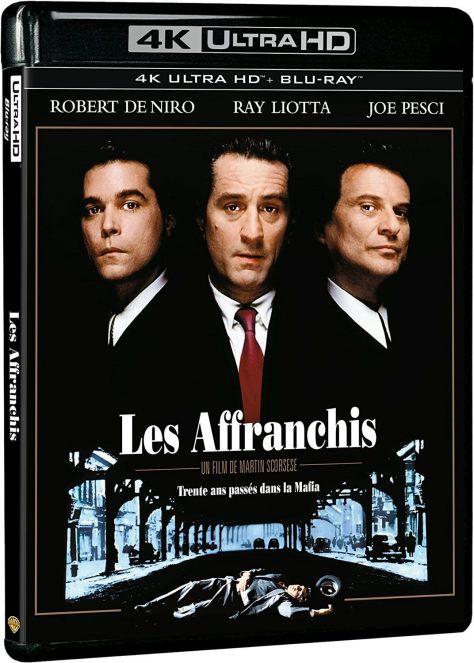 Les Affranchis (1990) de Martin Scorsese - Packshot Blu-ray 4K Ultra HD