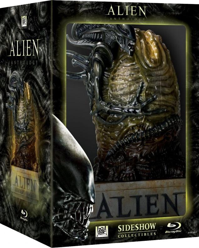 Alien Anthologie – Édition Limitée (Boitier oeuf) – Packshot Blu-ray