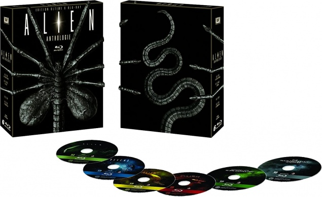 Alien Anthologie – Édition Ultime – Packshot Blu-ray