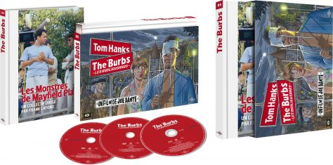 The 'Burbs - Les banlieusards (1989) de Joe Dante - Packshot Blu-ray Collector