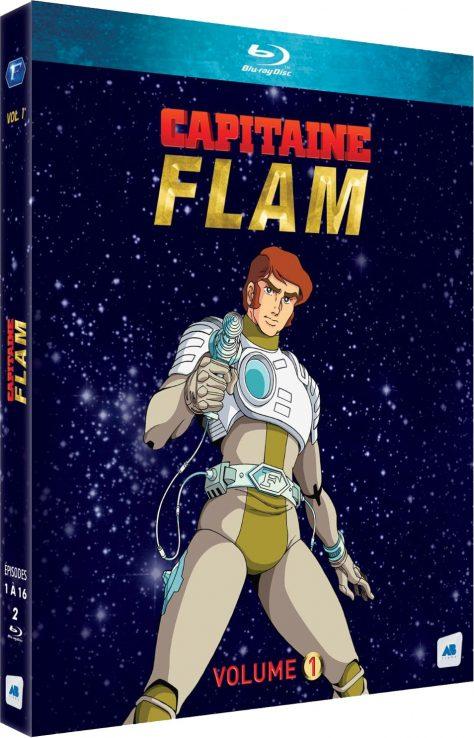 Capitaine Flam (Volume 1) - Packshot Blu-ray