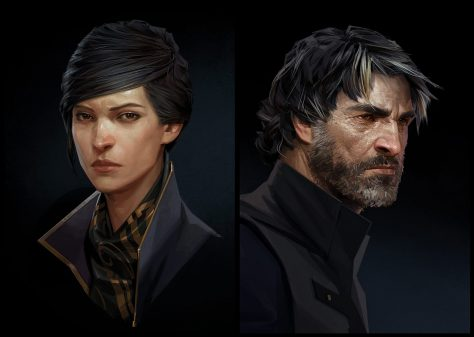 Dishonored 2 - Emily & Corvo