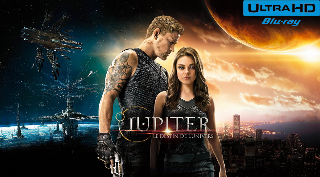 Jupiter : Le destin de l'univers (2015) de The Wachowskis – Capture Blu-ray