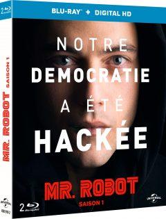 Mr Robot - Saison 1 - Jaquette Blu-ray 3D