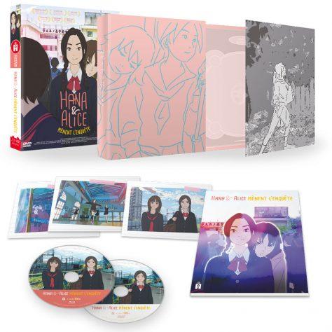 Hana et Alice mènent l'enquête - Scénographie Blu-ray