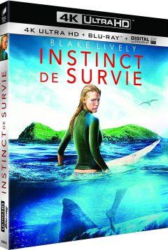 Instinct de survie - The Shallows (2016) de Jaume Collet-Serra – Packshot Blu-ray 4K Ultra HD