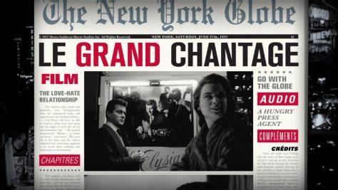 Le Grand chantage - Menu Blu-ray