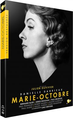 Marie-Octobre - Jaquette Blu-ray