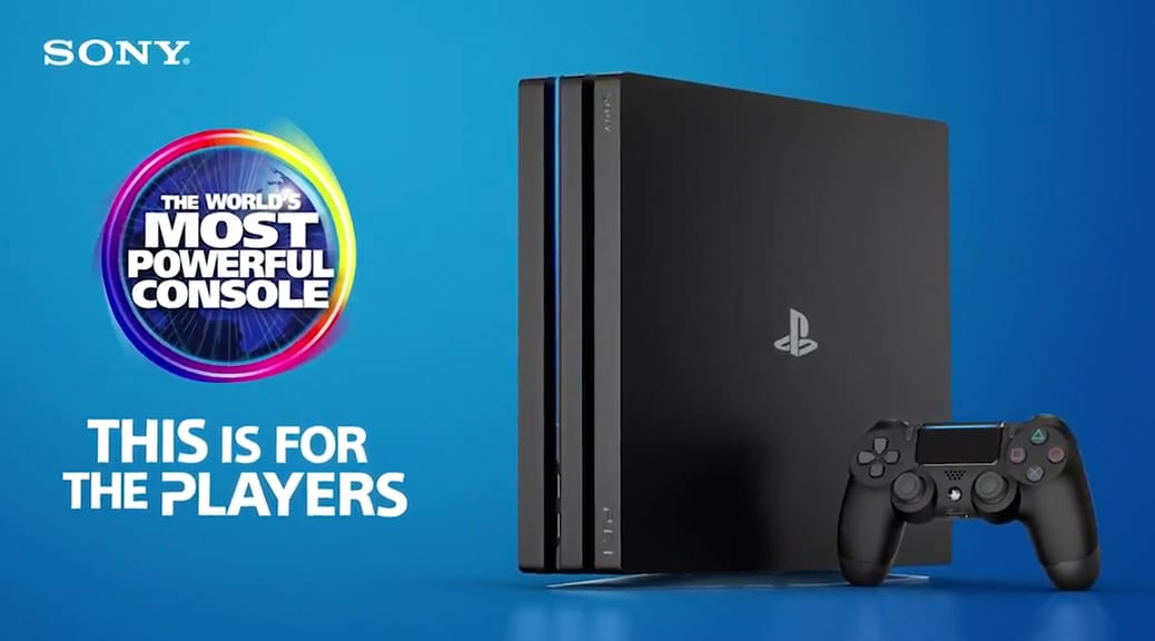 PlayStation 4 Pro - The World's Most Powerful Console