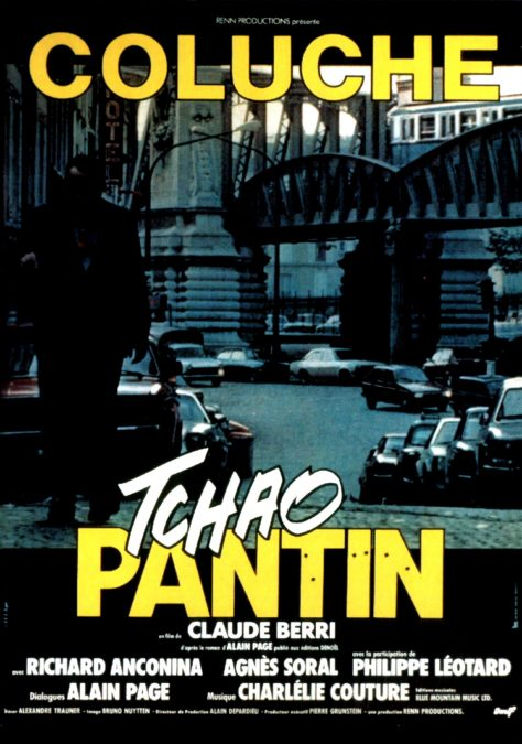 Tchao Pantin - Affiche