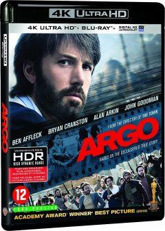 Argo (2012) de Ben Affleck - Packshot Blu-ray 4K Ultra HD