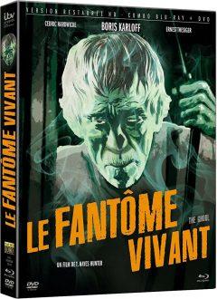Le Fantôme vivant (1933) de T. Hayes Hunter - Packshot Blu-ray