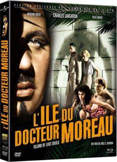 L'Île du docteur Moreau (1932) de Erle C. Kenton - Packshot Blu-ray