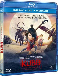 Kubo et l'Armure Magique (2016) de Travis Knight - Packshot Blu-ray