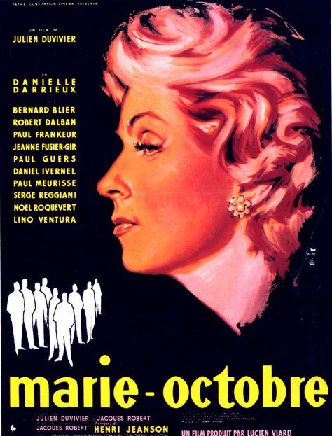 Marie-Octobre - Affiche