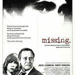 Missing - Affiche US 1982