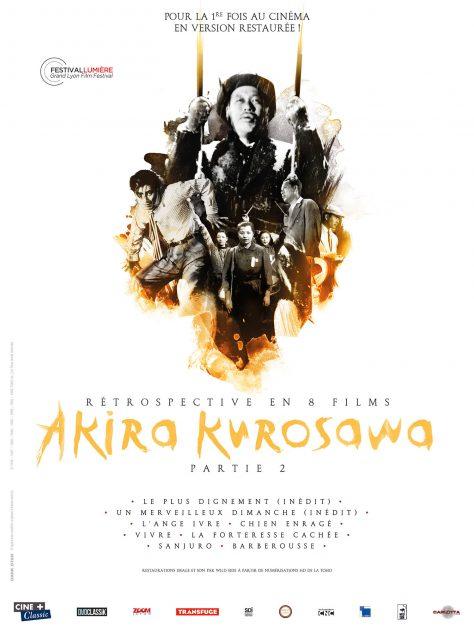 Rétrospective Kurosawa - Partie 2 - Affiche