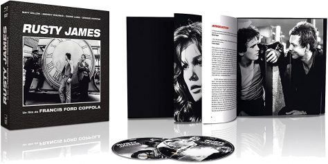 Rusty James – Édition Collector Blu-ray + DVD + Livre - Packshot Blu-ray