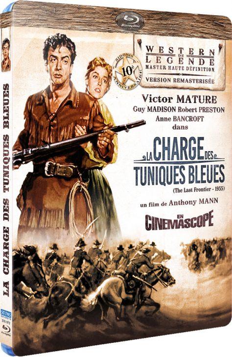 La Charge des Tuniques Bleues - Jaquette Blu-ray 3D