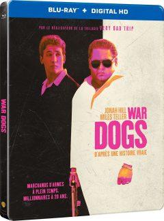 War Dogs (2016) de Todd Phillips - Packshot Blu-ray