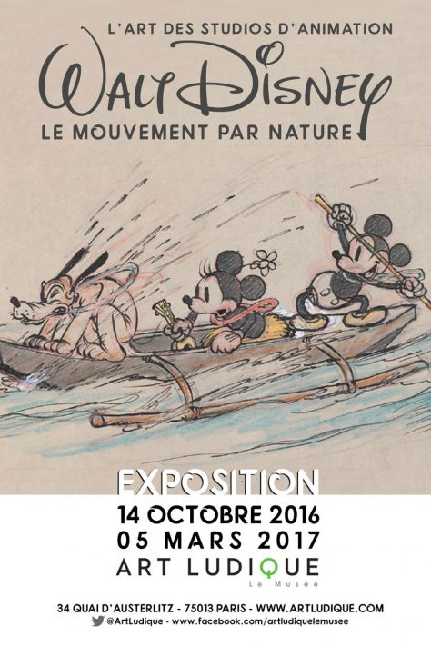 Walt Disney – Le Mouvement par Nature
