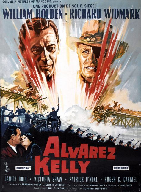 Alvarez Kelly - Affiche France
