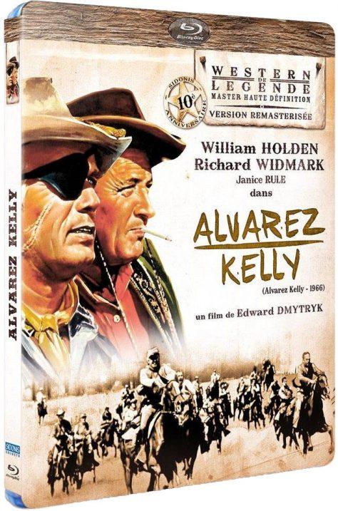 Alvarez Kelly - Jaquette Blu-ray