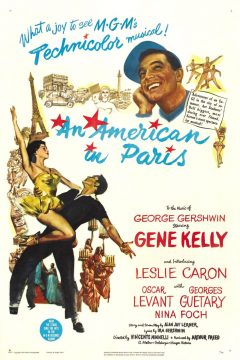 An american in Paris - Affiche US
