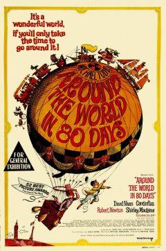 Le Tour du monde en 80 jours - Affiche US