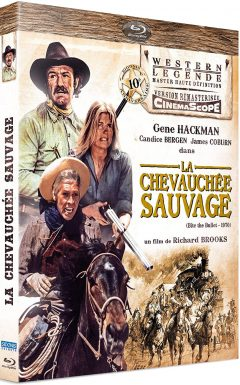 La Chevauchée sauvage (1975) de Richard Brooks - Packshot Blu-ray