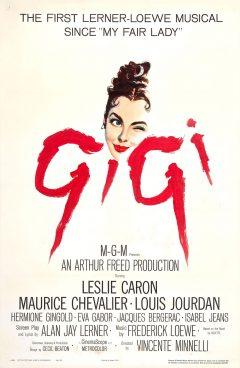 Gigi - Affiche US