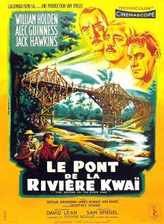 Le Pont de la rivière Kwai - Affiche France