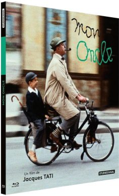 Mon Oncle - Jaquette Blu-ray