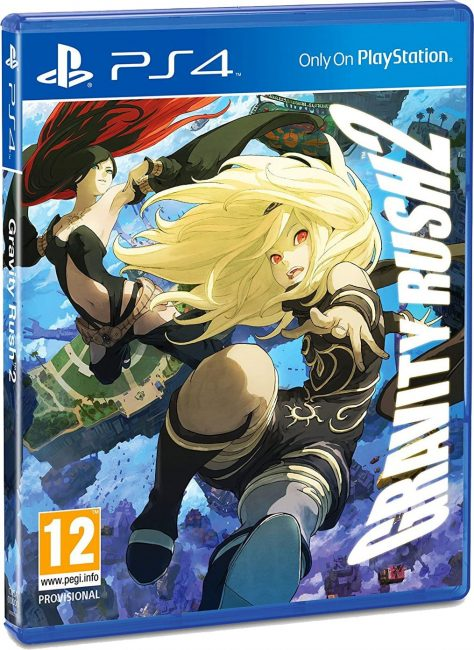 Packshot Gravity Rush 2