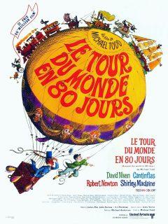 Le Tour du monde en 80 jours - Affiche France