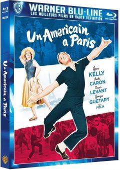 Un américain à Paris - Jaquette Blu-ray