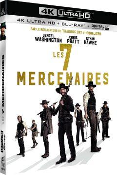 Les 7 Mercenaires (2016) de Antoine Fuqua – Packshot Blu-ray 4K Ultra HD