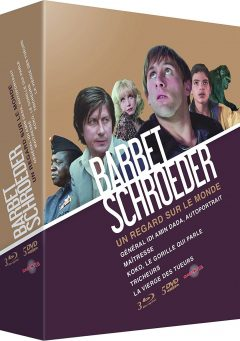 Coffret Barbet Schroeder - Packshot Blu-ray